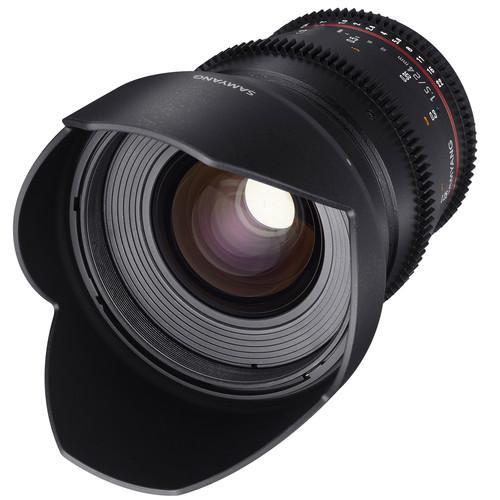 Samyang 24mm T1.5 VDSLRII Cine Lens for Micro Four SYDS24M-MFT