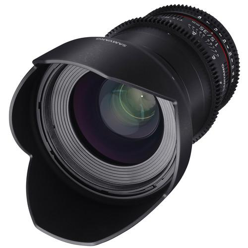 Samyang 35mm T1.5 VDSLRII Cine Lens for Micro Four SYDS35M-MFT