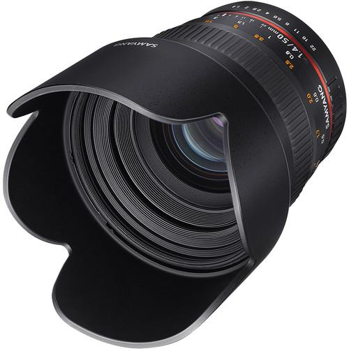 Samyang 50mm f/1.4 AS UMC Lens for Canon EF SY50M-C