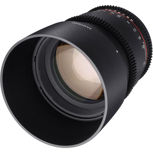 Samyang 85mm T1.5 VDSLRII Cine Lens for Sony Alpha SYDS85M-S