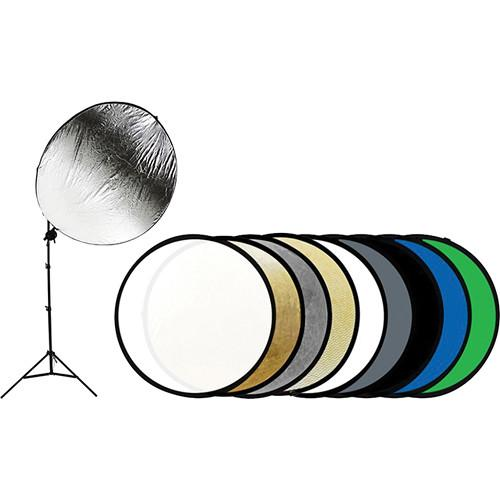Savage 9-in-1 Reflector Kit with Stand (43