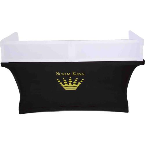 SCRIM KING Table Topper Scrim (White, 6') SS-TTP601001W