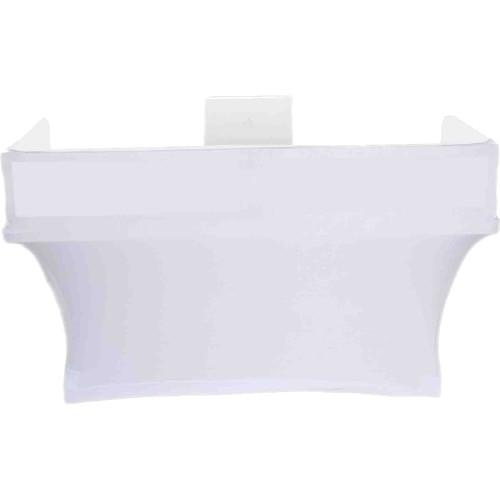 SCRIM KING Table Topper with White Scrim (6') SS-TTP602W