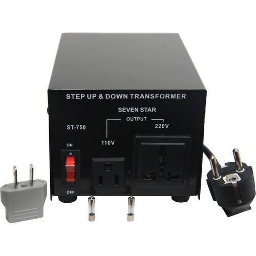 Sevenstar ST-750 Step Up/Step Down Transformer (750W) ST-750 U/D