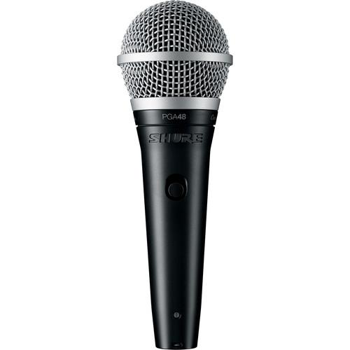 Shure PGA48 Dynamic Vocal Microphone (No Cable) PGA48-LC