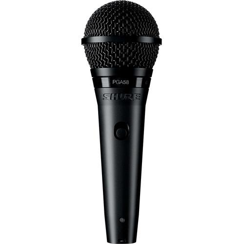 Shure PGA58-LC Cardioid Dynamic Vocal Microphone PGA58-LC
