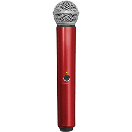 Shure WA713-RED Color Handle for BLX SM58/BETA58A WA713-RED
