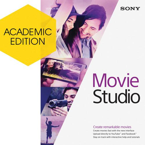 Sony Movie Studio 13 Video Editing Software ASMS13099ESD