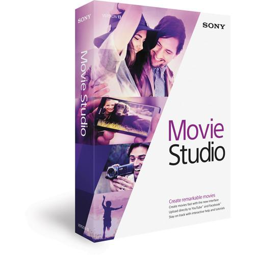 Sony Movie Studio 13 Video Editing Software (Boxed) MSMS13000