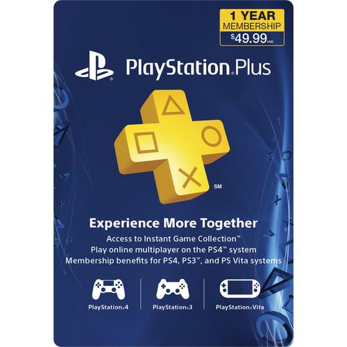 Sony PlayStation Plus Subscription (1-Year) 3000133