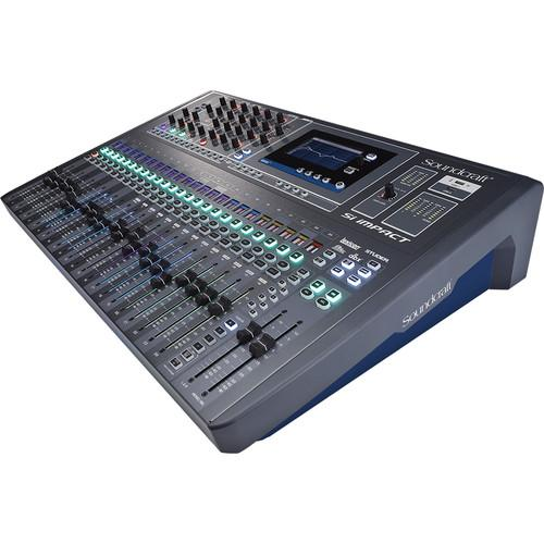 Soundcraft Si Impact 40-Input Digital Mixing Console and 5056170