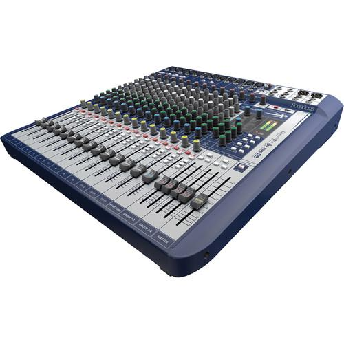 Soundcraft Signature 16 16-Input Mixer with Effects 5049559