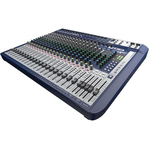 Soundcraft Signature 22 22-Input Mixer with Effects 5049562