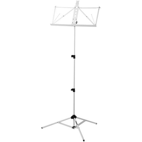 Strukture Deluxe Aluminum Music Stand w/Adjustable Tray S3MS-WT