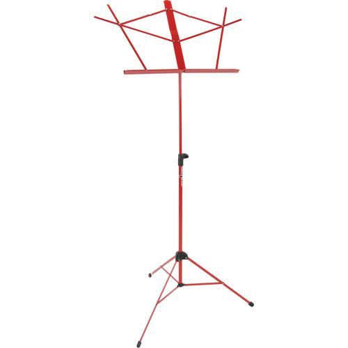 Strukture SMS1-BK 3-Part Adjustable Music Stand with Bag SMS1-RD