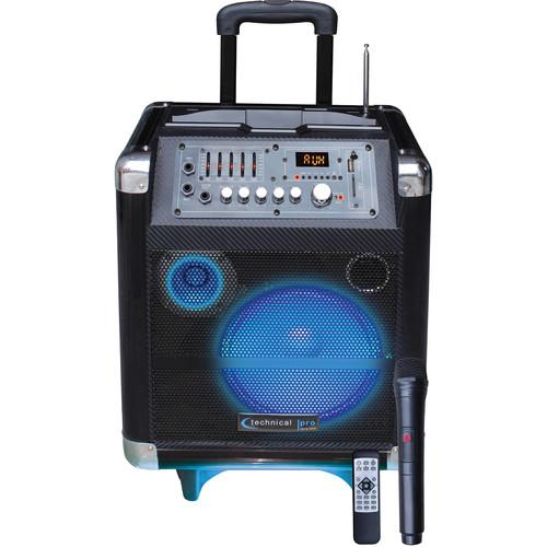 Technical Pro WASP850LBT 8'' Portable PA System WASP850LBT