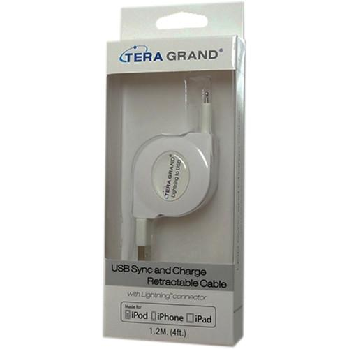 Tera Grand Apple MFi Lightning to USB Sync and APL-WI041-WH