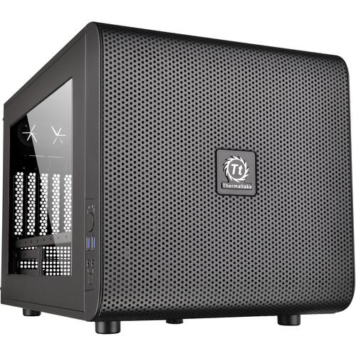 Thermaltake Core V21 Micro Chassis (Black) CA-1D5-00S1WN-00