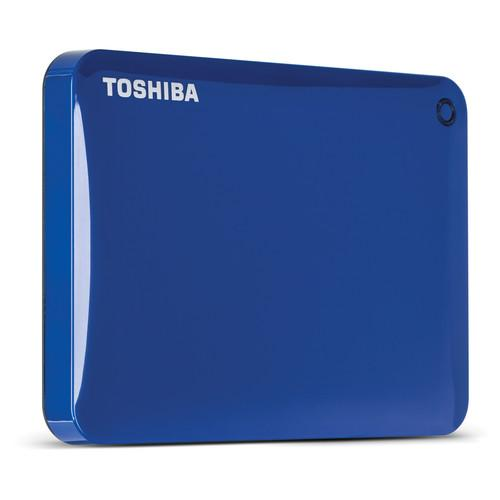 Toshiba 2TB Canvio Connect II Portable Hard Drive HDTC820XL3C1