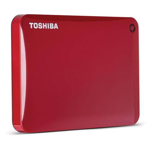 Toshiba 3TB Canvio Connect II Portable Hard Drive HDTC830XR3C1
