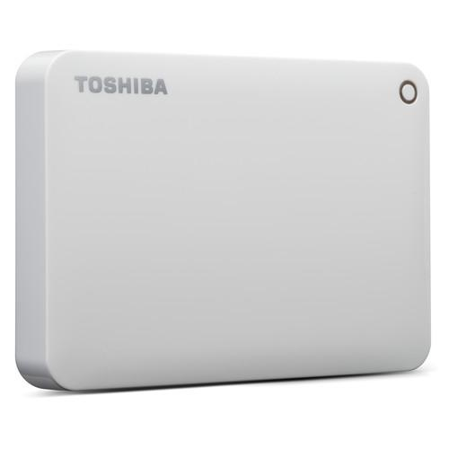 Toshiba 500GB Canvio Connect II Portable Hard Drive HDTC805XW3A1