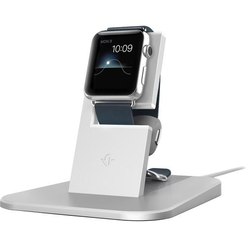 Twelve South HiRise Stand for Apple Watch (Silver) 12-1503