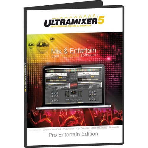 Ultramixer UltraMixer 5 Pro Entertain - Professional DJ UM-PE5M