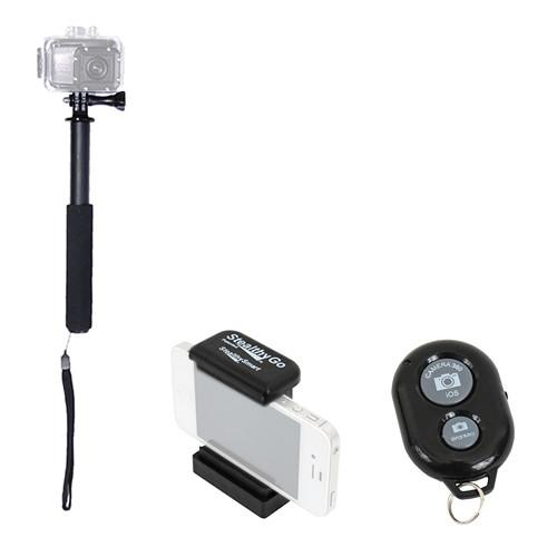 VariZoom Ultimate POV Pole with Smartphone STEALTHY STICK PLUS