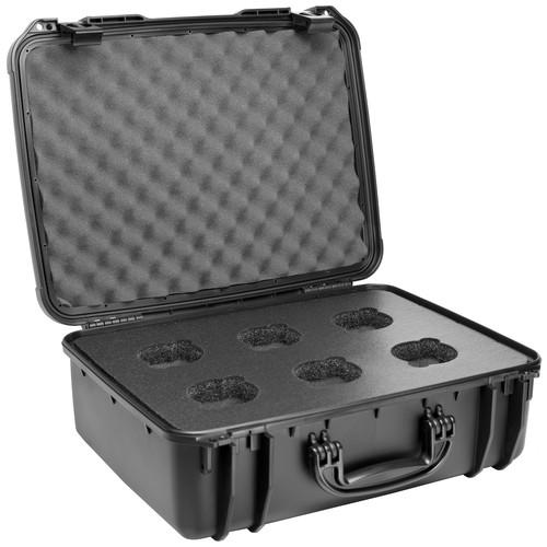 Veydra  6-Hole Custom Hard Lens Case V1-6CASE