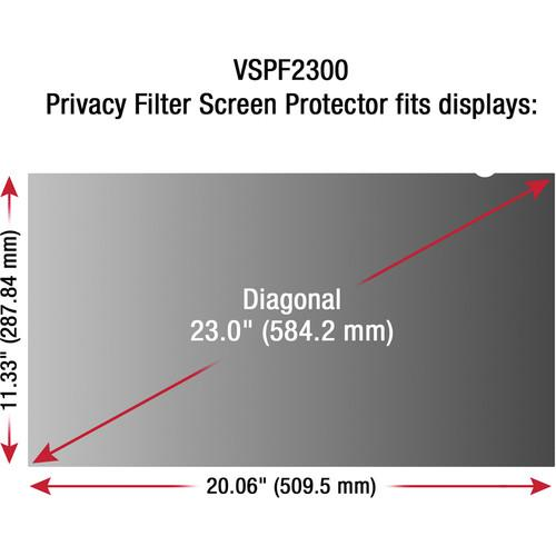 ViewSonic VSPF2300 Privacy Filter for 23