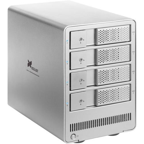 Xcellon DRD-401 4.0TB (4 x 1TB) Four-Bay HDD Enclosure Kit