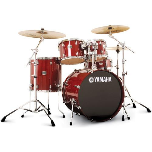 Yamaha Stage Custom Birch Acoustic 5-Piece Drum Set SBP2F50CR