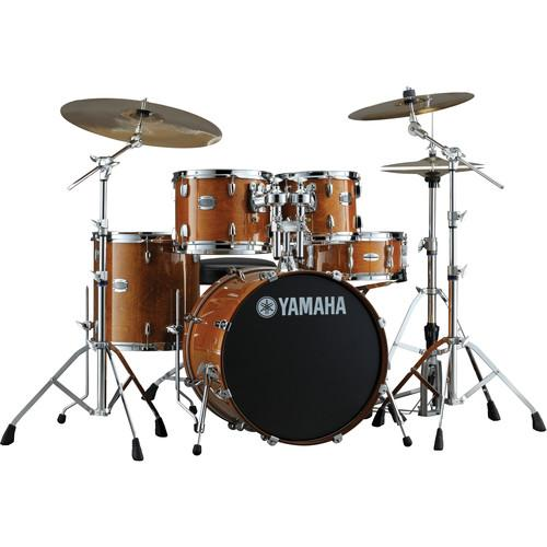 Yamaha Stage Custom Birch Acoustic 5-Piece Drum Set SBP2F50HA