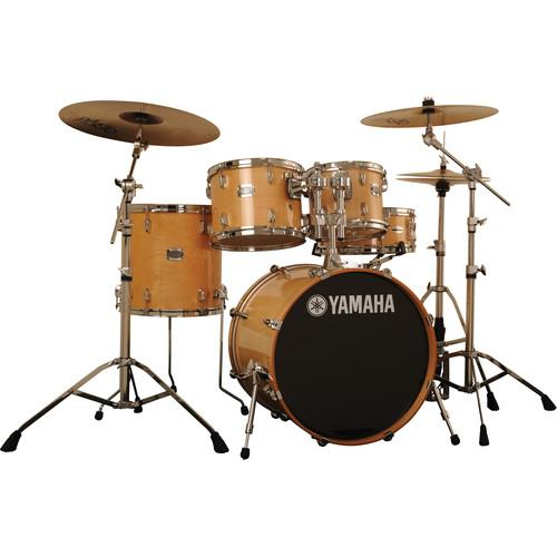 Yamaha Stage Custom Birch Acoustic 5-Piece Drum Set SBP2F50NW