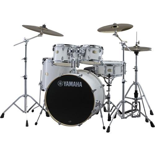 Yamaha Stage Custom Birch Acoustic 5-Piece Drum Set SBP2F50PW