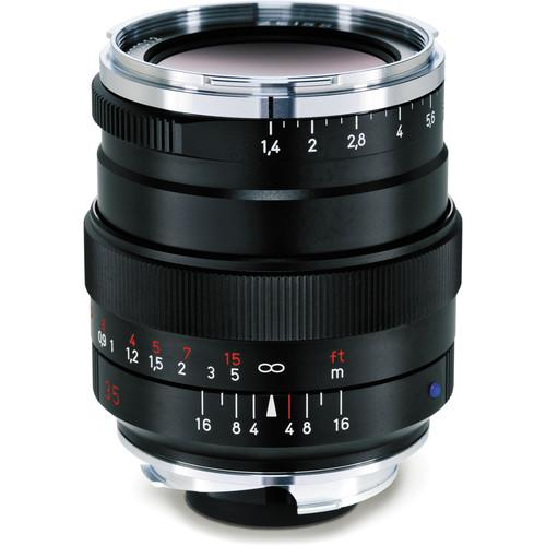 Zeiss 35mm f/1.4 Distagon T* ZM Lens for M-Mount (Black)