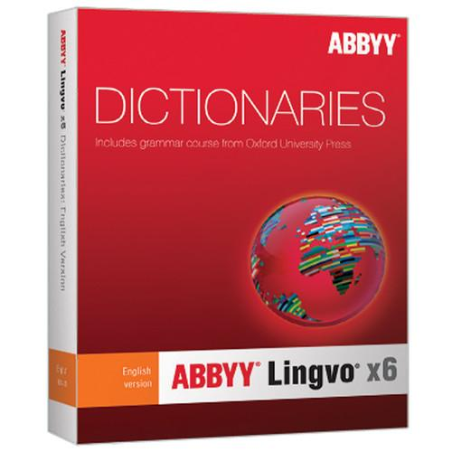 ABBYY Lingvo x6 English-Russian Dictionary (Upgrade) LVPERUWX6E