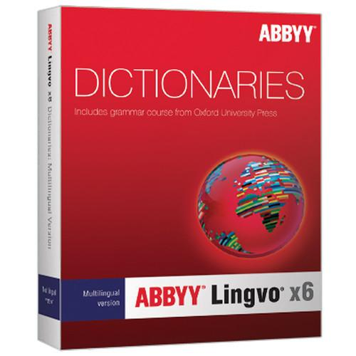 ABBYY Lingvo x6 Multilingual Russian Dictionary LVPMLEUWX6E