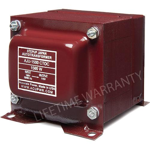 ACUPWR AJU-1500 CTOC US to Japan Step Up Transformer AJU 1500