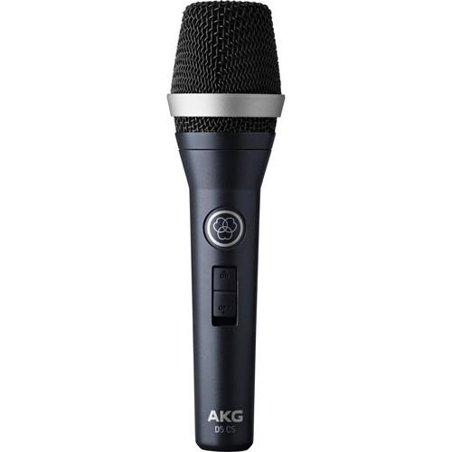 AKG D5 CS Professional Dynamic Vocal Microphone 3138X00350