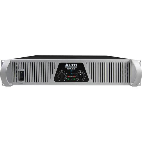 Alto MAC 2.2 2-Channel 1500W Power Amplifier MAC2.2