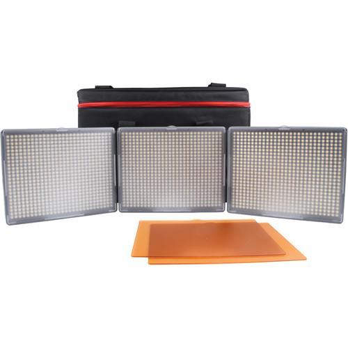 Aputure Amaran 3-Point 2-Daylight Spot, 1-Bi-Color HR672KIT-SSC