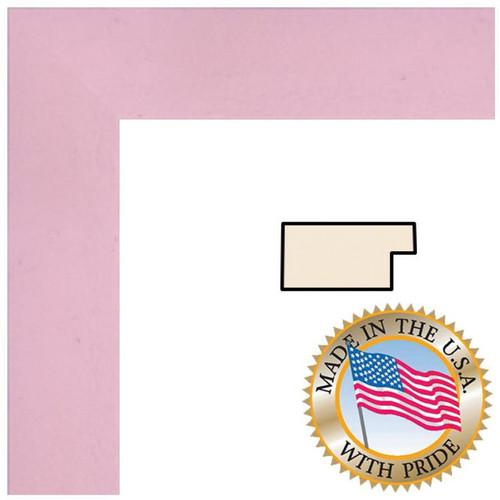 ART TO FRAMES 4120 Baby Pink Stain WOM0066-81792-YPNK-20X24
