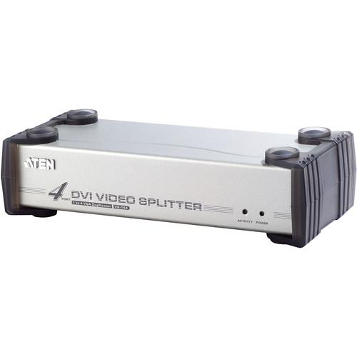 ATEN  VS164 4-Port DVI Video KVM Splitter VS164