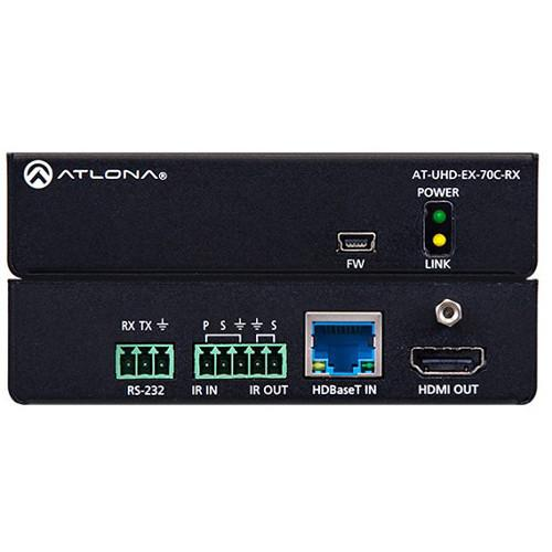 Atlona 4K/UHD HDMI HDBaseT Receiver over Cat AT-UHD-EX-70C-RX