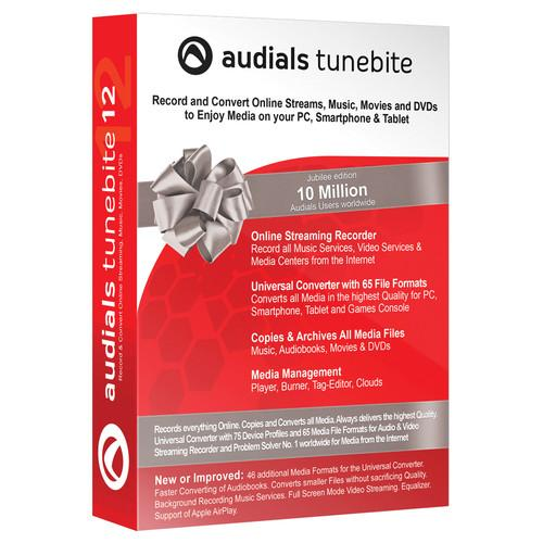 Audials USA Tunebite 12 Platinum (Download) 4260114250662