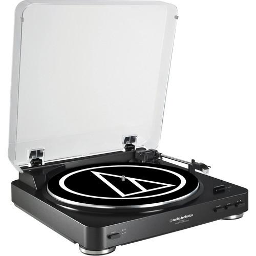 Audio-Technica AT-LP60 Fully Automatic Belt-Drive AT-LP60BK