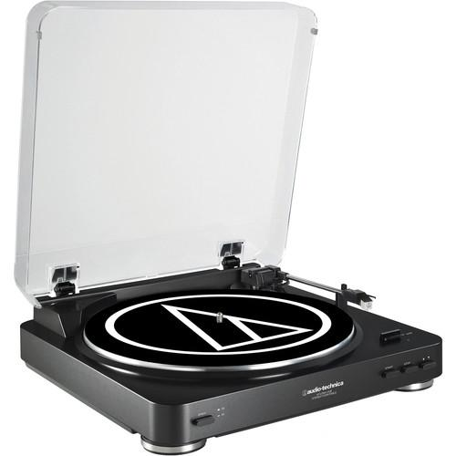 Audio-Technica AT-LP60USB Fully Automatic AT-LP60BK-USB