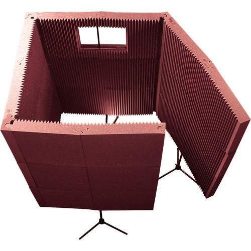 Auralex MAX-Wall 1141 - Portable Recording Booth Kit MAX1141BUR