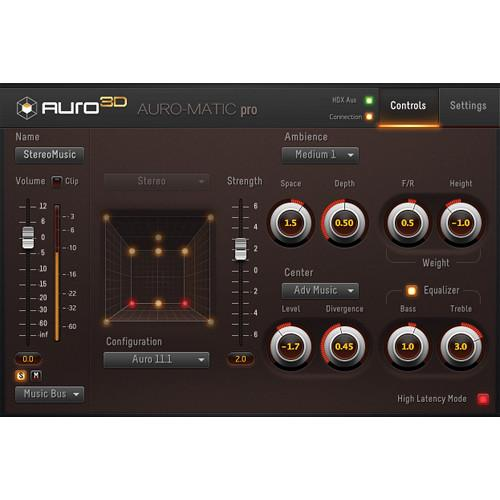 AURO Technologies Auro-Matic Pro 2D - Up-Mixing Plug-In AMP1-2D